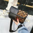 Panel Flap Shoulder Bag