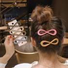 Acrylic Infinity Hair Clip