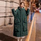 Hooded Midi Padded Jacket