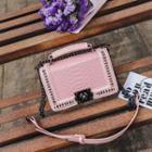 Snakeskin Pattern Crossbody Bag