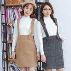Suspender Pencil Skirt