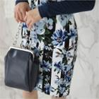 Floral-pattern Pencil Skirt