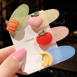 Plastic Fruit / Vegetable Hair Clip