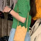 Weave Mini Crossbody Bag