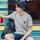 Applique Short-sleeve T-shirt