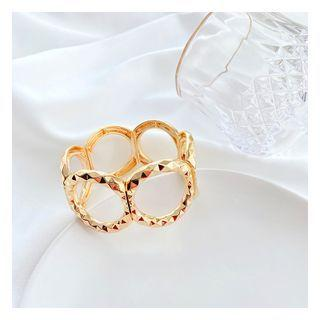 Hoop Alloy Ring Gold - One Size