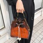 Transparent Bucket Bag & Pouch