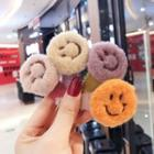 Chenille Smiley Hair Clip