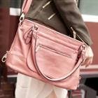 Belted Tote Pink - One Size