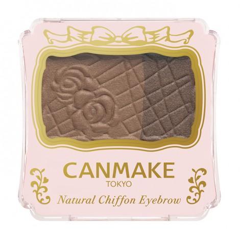 Canmake - Natural Chiffon Eyebrow (#02 Almond Chocolat) 1 Pc