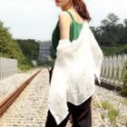 Sheer Textured Linen Shirt
