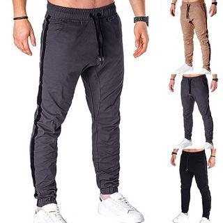 Taped Jogger Pants