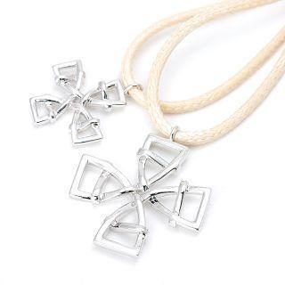 Celtic Cross Pair Pendant