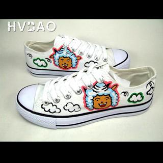 Pleasant Goat Canvas Sneakers