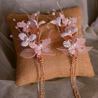 Wedding Butterfly Choker / Hair Clip