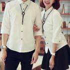Couple Matching Plain Shirt