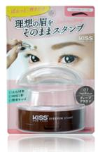 Kiss - Ny Eyebrow Stamp (#01 Deep Brown/arch) 1 Pc