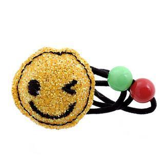 Dazzling Yellow Glitter Smile Hair Band