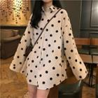 Corduroy Dotted Long Shirt