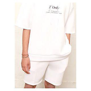 Band-waist Neoprene Shorts