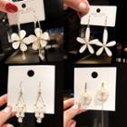Flower Drop Earring (various Designs)