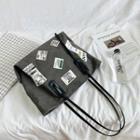 Label Print Tote Bag