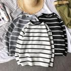 Striped Crewneck Top