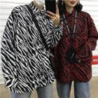 Couple Matching Zebra Print Shirt