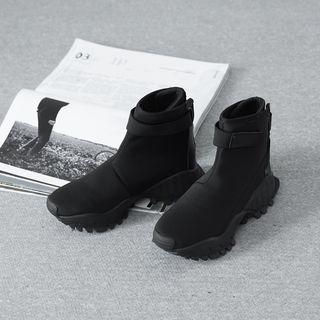 High-top Velcro Sneakers