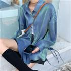 Glitter Shirt Bluish Green - One Size