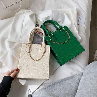 Chain Embossed Handbag