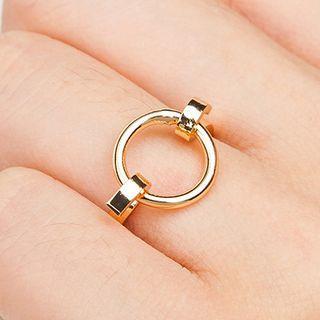 Alloy Hoop Ring