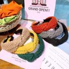 Wool Knot Headband