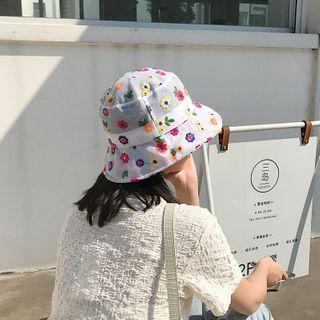 Floral Bucket Hat As Shown In Figure - One Size