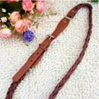 Woven Slim Belt