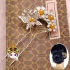 Butterfly Flower Hair Pin