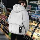 Cat Hooded Padded Coat