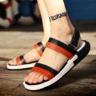Contrast Color Sandals