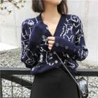 Patterned Sweater / Cardigan