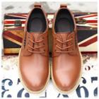 Genuine-leather Lace-up Dress Shoes