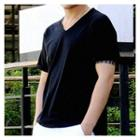 V-neck Shirt-sleeve T-shirt