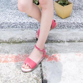 Faux-suede Sandals