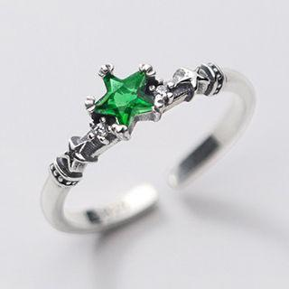 Rhinestone Star Ring As Shown In Figure - One Size