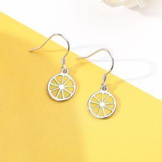 925 Sterling Silver Fruit Dangle Earring As Shown In Figure - One Size
