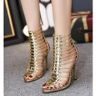 High-heel Ankle Sandals