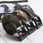 Camouflage Canvas Belt