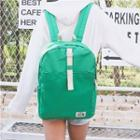 Canvas Contrast Strap Backpack