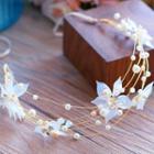 Wedding Rhinestone Floral Hair Band