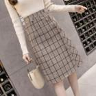 Straight-fit Skirt / A-line Skirt