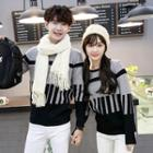 Couple Printed Knit Top